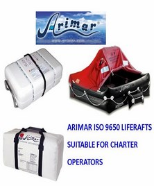 Special Offer on Arimar ISO9650 Liferafts