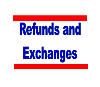 Refunds and Exchanges