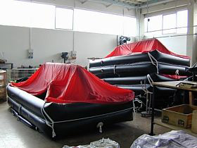 Raimar 14 man Liferaft