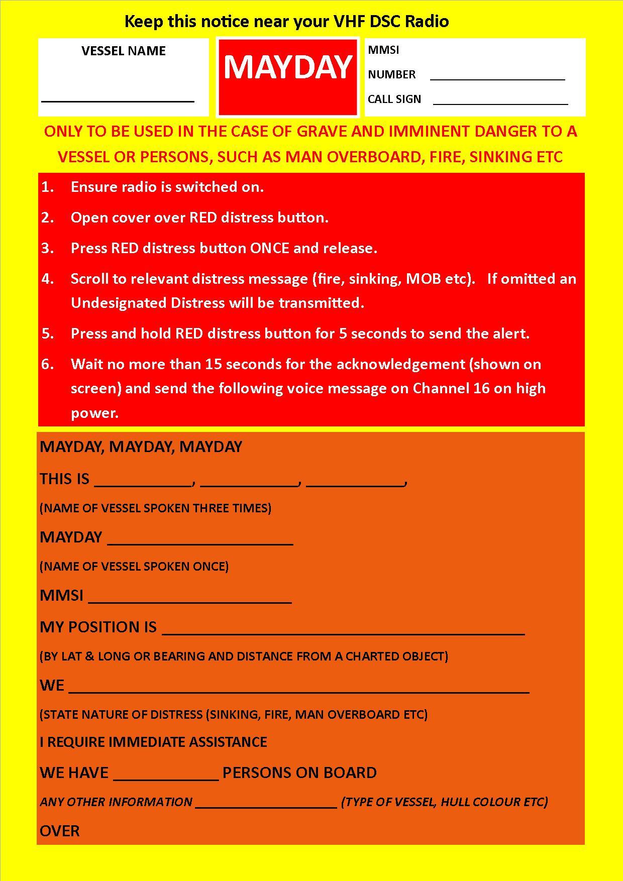 Training Manuals Amp Signal Cards Adec Marine