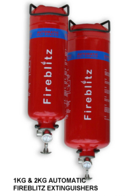 Fireblitz Automatic Dry Powder Fire Extinguishers