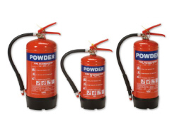 Homesaver Dry Powder Fire Extinguishers