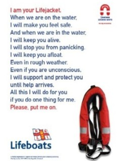 RNLI Lifejacket Poster
