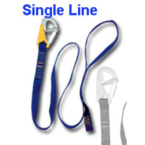 Single Hook Safety Line 1