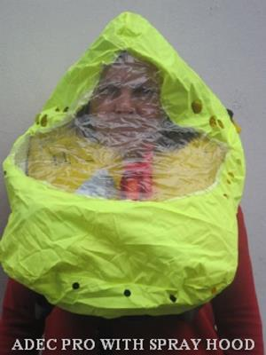 Spray Hood for ADEC & Challenger Lifejackets