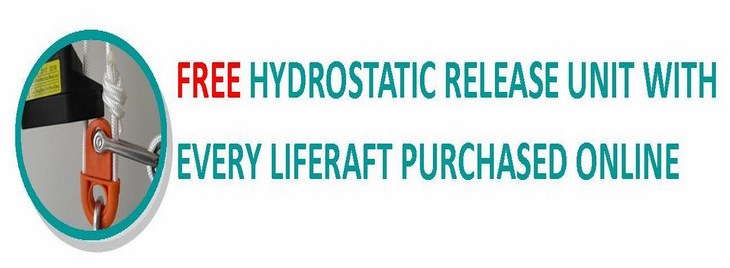 Free Hydrostatic Release with every liferaft