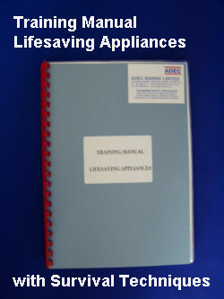 Training Manual - Lifesaving Appliances